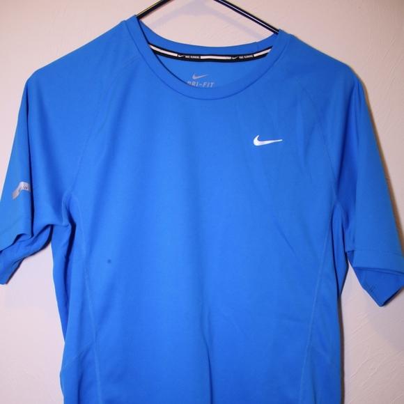 Nike Mens Running Dri Fit Running Tee Small